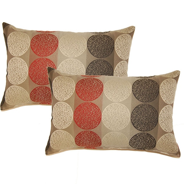 Kenzo Rocket 12.5-in Throw Pillows (Set of 2) - 15941996 - Overstock.com Shopping - Great Deals ...