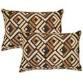Sienna Tan 12.5-in Throw Pillows (Set of 2)