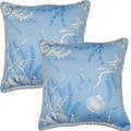 By The Sea 17-in Throw Pillows (Set of 2)