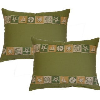 Clearwater 12.5-in Throw Pillows (Set of 2)