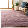 Safavieh Hand-loomed Himalaya Purple Wool Rug (4' x 6')