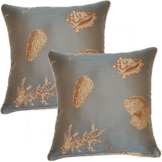 Nassua 17-in Throw Pillows (Set of 2)