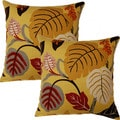 Rosanno 17-in Throw Pillows (Set of 2)
