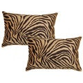 Zambia Coffee 12.5-in Throw Pillows (Set of 2)