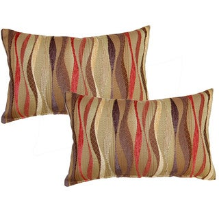 New Wave Brick 12.5-in Throw Pillows (Set of 2)