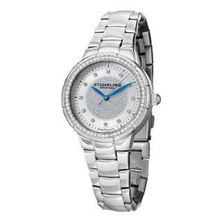 Stuhrling Original Women's Sparkle Swiss Quartz Bracelet Watch