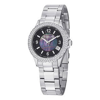 Stuhrling Original Women's Iris Swiss Quartz Bracelet Bracelet Watch