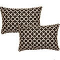 Hockley Noir 12.5-in Throw Pillows (Set of 2)