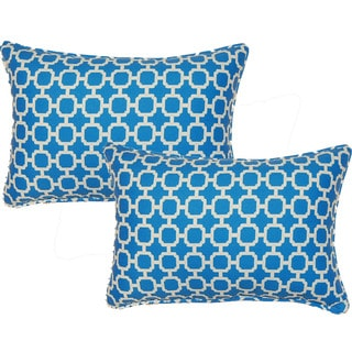 Hockley Nile 12.5-in Throw Pillows (Set of 2)