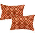 Hockley Mandarin 12.5-in Throw Pillows (Set of 2)