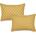 Hockley Banana 12.5-in Throw Pillows (Set of 2)