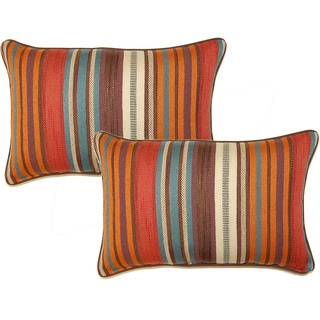 Flare Fiesta 12.5-in Throw Pillows (Set of 2)