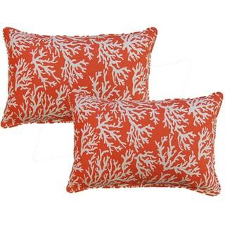 Faylinn Mandarin 12.5-in Throw Pillows (Set of 2)