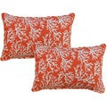Faylinn Mandarin 12.5-in Throw Pillows (Set of 2)