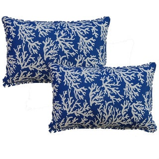 Faylinn Atlantic 12.5-in Throw Pillows (Set of 2)