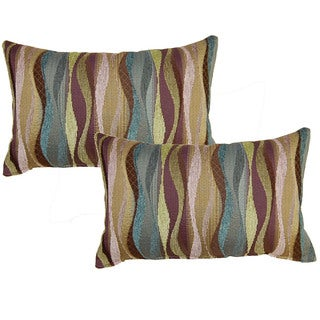 New Wave Parfait 12.5-in Throw Pillows (Set of 2)