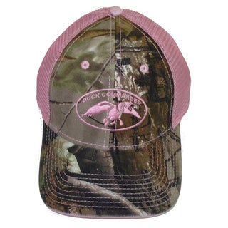 Duck Commander Womens Camo/ Pink Mesh Hat