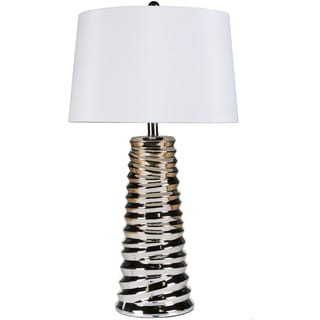 Sparkling 1-light Chrome Table Lamp