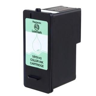 INSTEN Remanufactured Black Ink Cartridge for Lexmark Inkjet 18Y0143