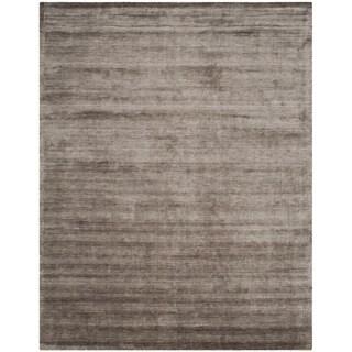Safavieh Hand-loomed Mirage Brown/ Charcoal Viscose Rug (6' x 9')