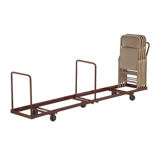 50-capacity Folding Chair Dolly Truck