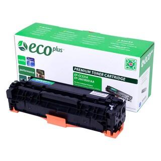 Ecoplus CC531A Remanufactured Cyan Toner Cartridge