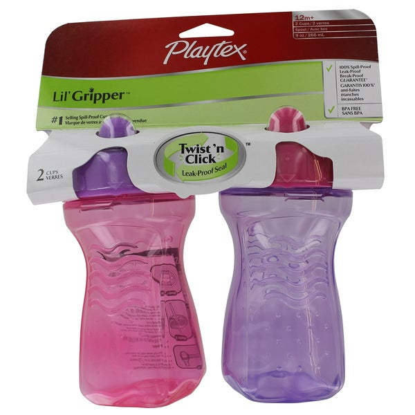 Playtex Lil' Gripper Spout Cup (2 Pack) 12278177