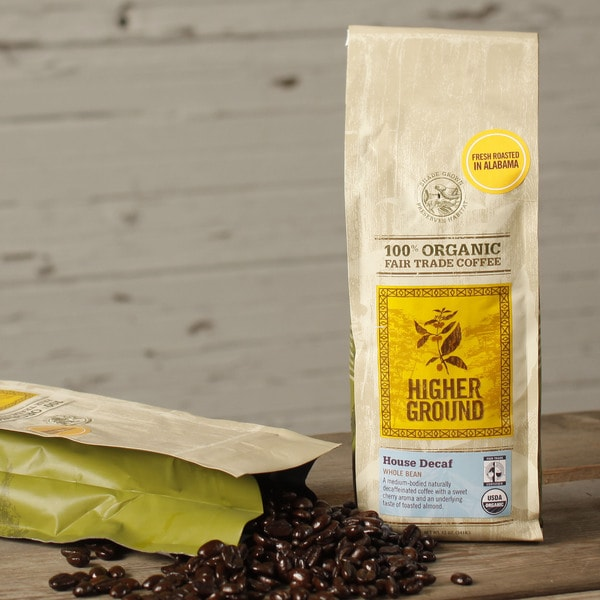 Higher Ground Decaf House Organic Coffee