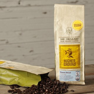 Higher Ground Decaf House Organic Coffee