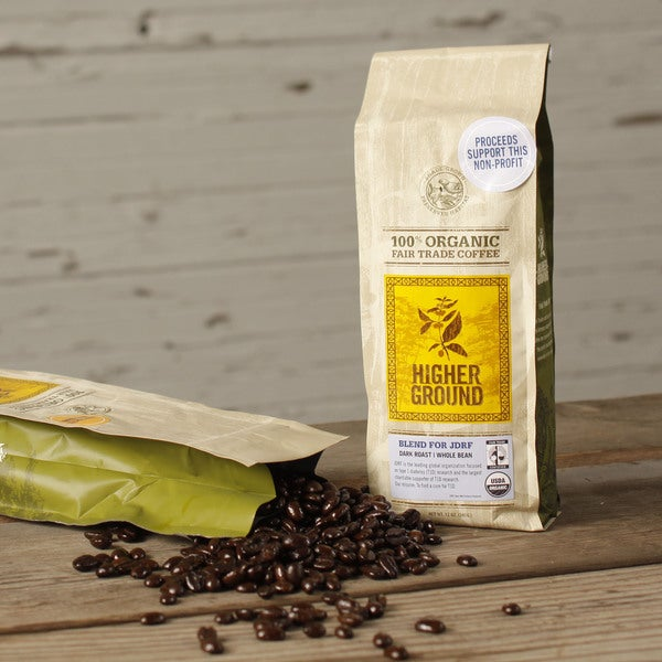Juvenile Diabetes Research Foundation Organic Blend Coffee
