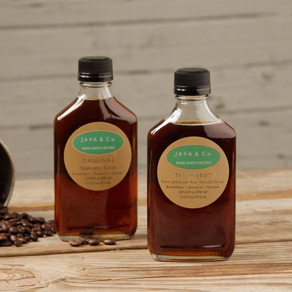 JAVA & Co. Signature Coffee Infused Syrup Duet