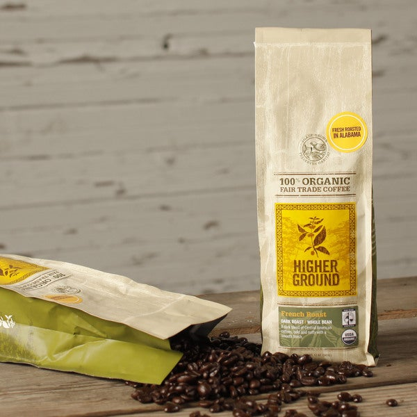 Higher Ground French Roast Organic Coffee