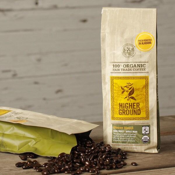 Higher Ground House Blend Organic Coffee