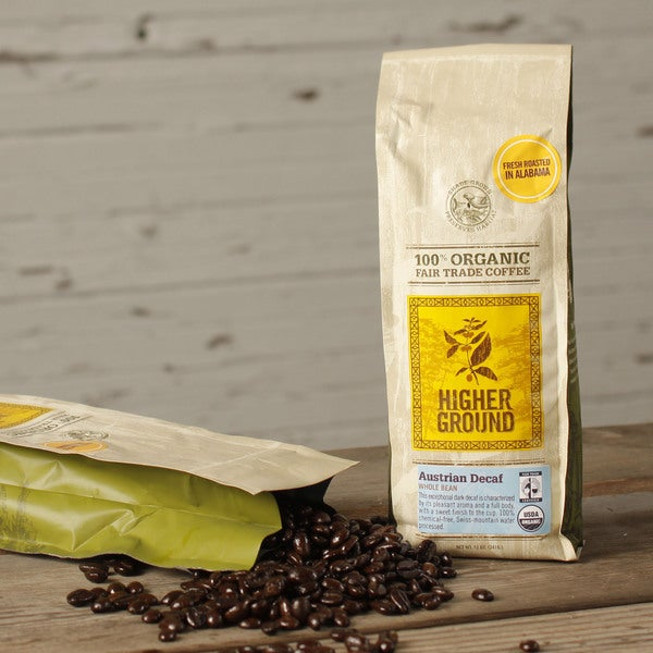 Higher Ground Decaf Austrian Organic Coffee
