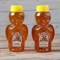 Topanga Quality Orange and Clover Raw Honey Angel Jars