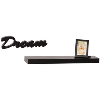 'Dream' Black 3.5x5-inch Photo Frame Shelf