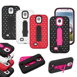 INSTEN Symbiosis Phone Case Cover with Stand for Samsung Galaxy S4 1337/ L720