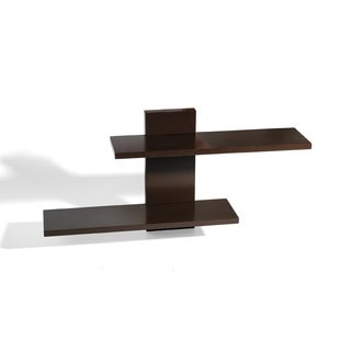 Espresso Adjustable Ledge Shelf