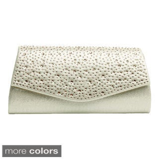 J. Furmani Studded Flap Evening Clutch