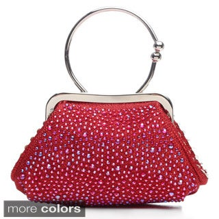 J. Furmani Studded Hand-held Evening Clutch