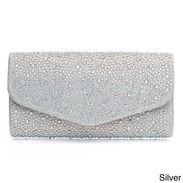 J. Furmani Fully Studded Flap Clutch