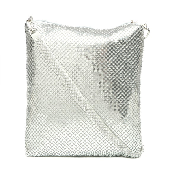 J. Furmani Rhinestone Metal Mesh Evening Bag