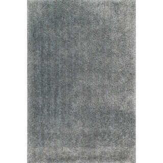 Hand-tufted Dream Light Blue Shag Rug (5'0 x 7'6)
