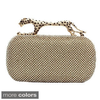 J. Furmani Tiger Handle Evening Bag
