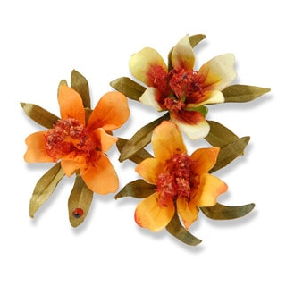 Sizzix Thinlits Flower/ Mini Lily Die Set (3 Pack)
