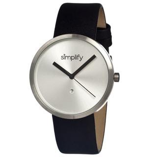 Simplify 1001 The 1000 Black Strap Watch