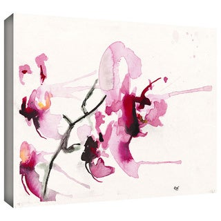Art Wall Karin Johannesson 'Orchids III' Gallery-Wrapped Canvas
