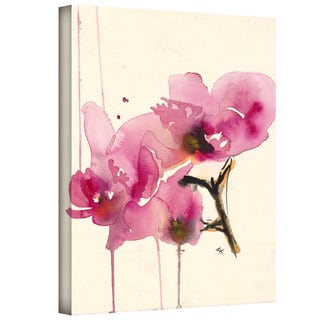 Art Wall Karin Johannesson 'Orchids II' Gallery-Wrapped Canvas