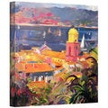 Art Wall Peter Graham 'St. Tropez Sailing' Gallery-Wrapped Canvas