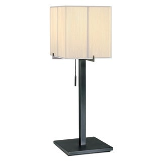 Sonneman Lighting Boxus 1-light Black Brass Table Lamp